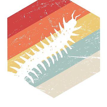 Retro 70s Centipede by ethandirks