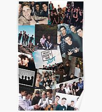 Why Don't We Collage Poster