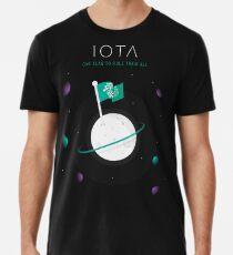 IOTA - Eine Flagge, um sie alle zu beherrschen Premium T-Shirt