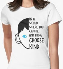 Choose Kind Women's Fitted T-Shirt