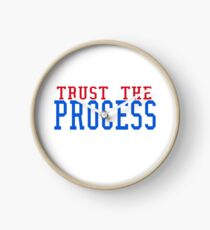 Sixers Trust the Process  Clock