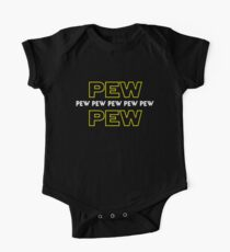 Pew Pew Pew etc One Piece - Short Sleeve
