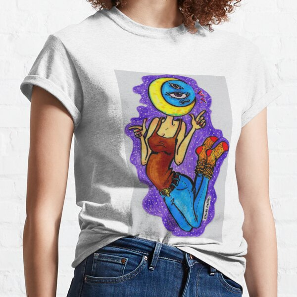 moon-headed person Classic T-Shirt