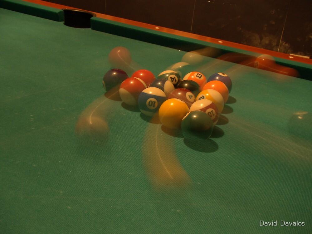 Speeding Balls by David  Davalos