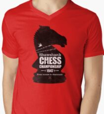 Shawshank Chess Comp Men's V-Neck T-Shirt