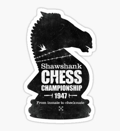 Shawshank Chess Comp Sticker