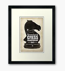 Shawshank Chess Comp Framed Print