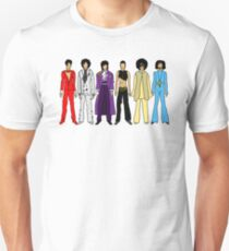 The Purple One Horizontal on White T-Shirt
