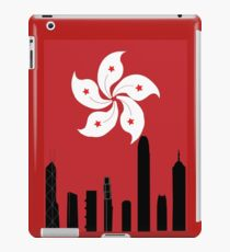 Hong Kong Skyline iPad-Hülle & Klebefolie
