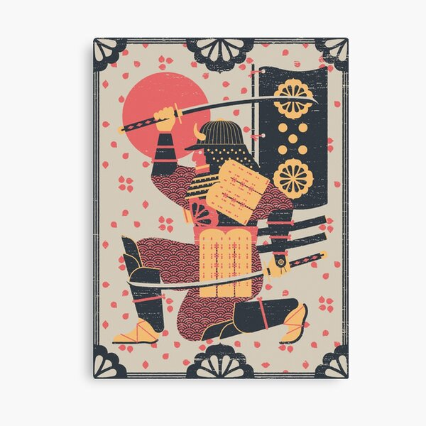 S is for Samurai Canvas Print