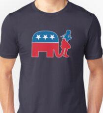 Funny Republican Symbol for Democrats and Liberals Unisex T-Shirt