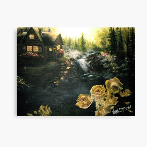 Alaskan Summer Day Canvas Print