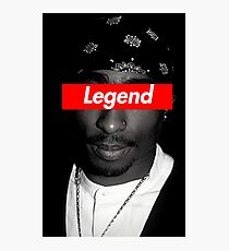 TUPAC LEGEND DESIGN Photographic Print