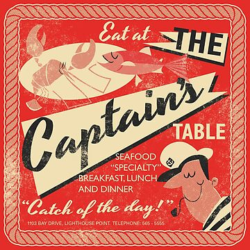 The Captain's Table by daviz