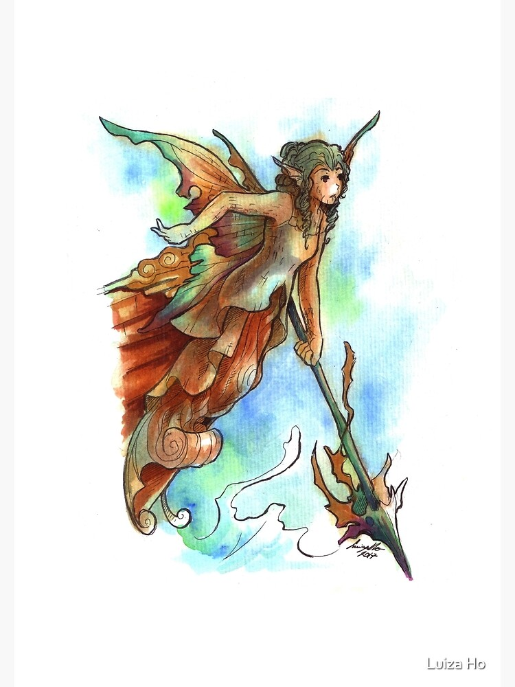 The Ship Fairy by teapotsandhats