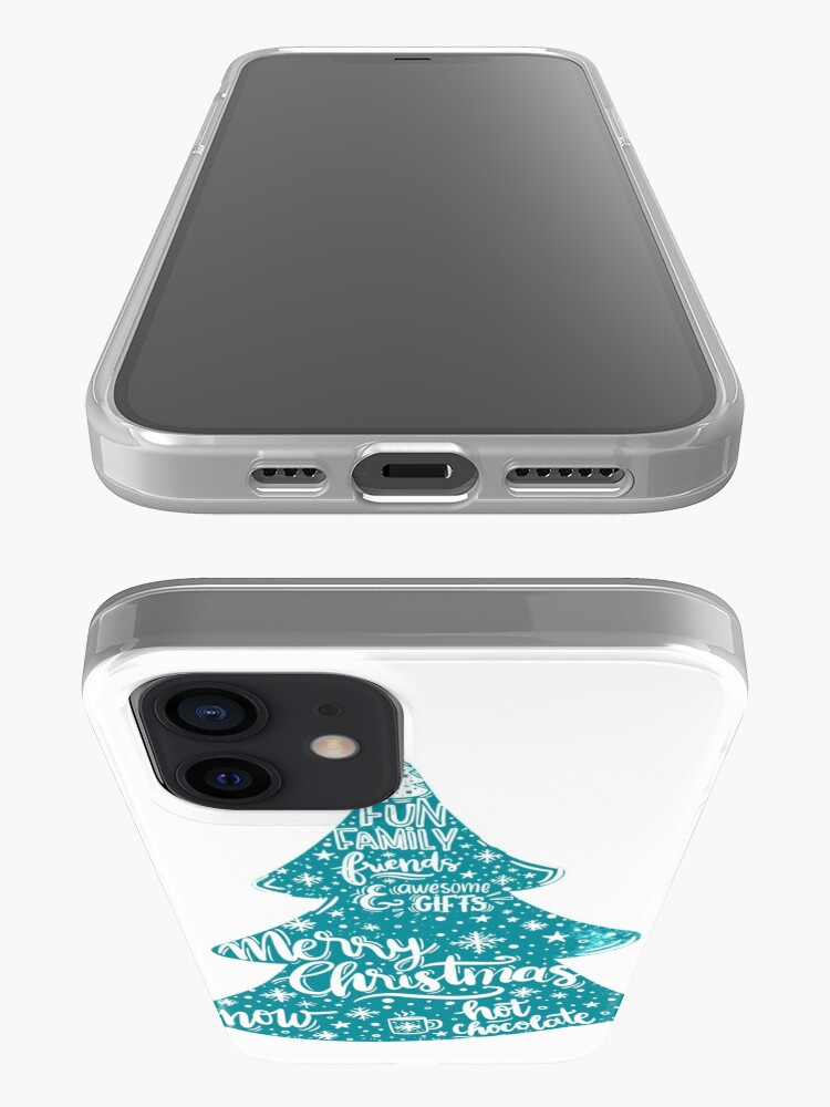 Alternate view of Merry Christmas! Holidays pattern design iPhone Case & Cover