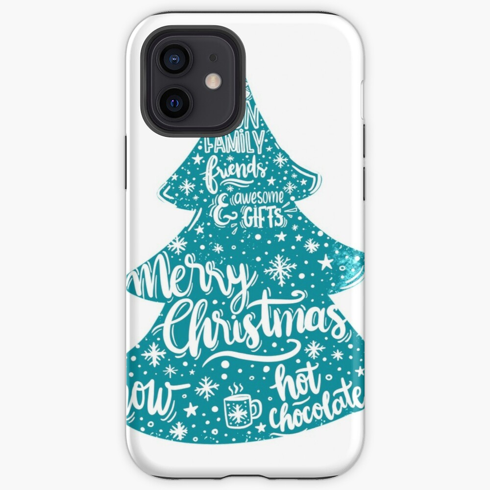 Merry Christmas! Holidays pattern design iPhone Case & Cover