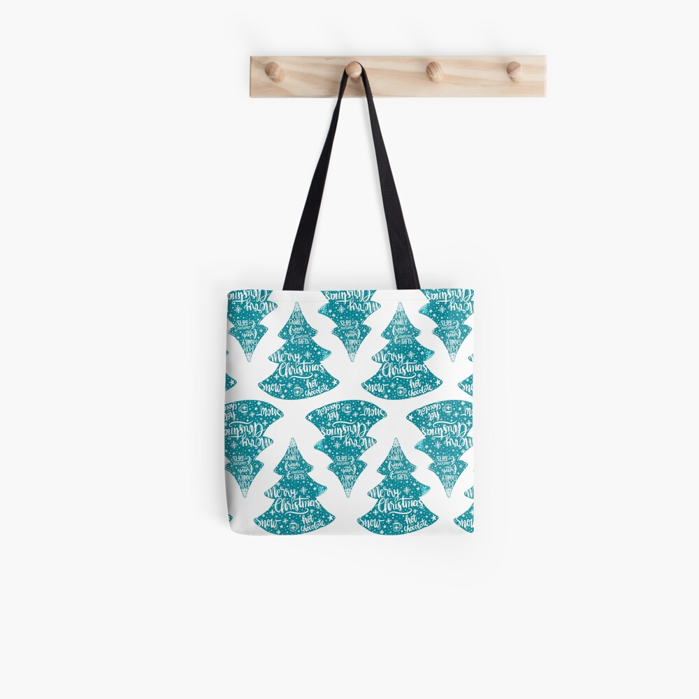 Merry Christmas! Holidays pattern design Tote Bag