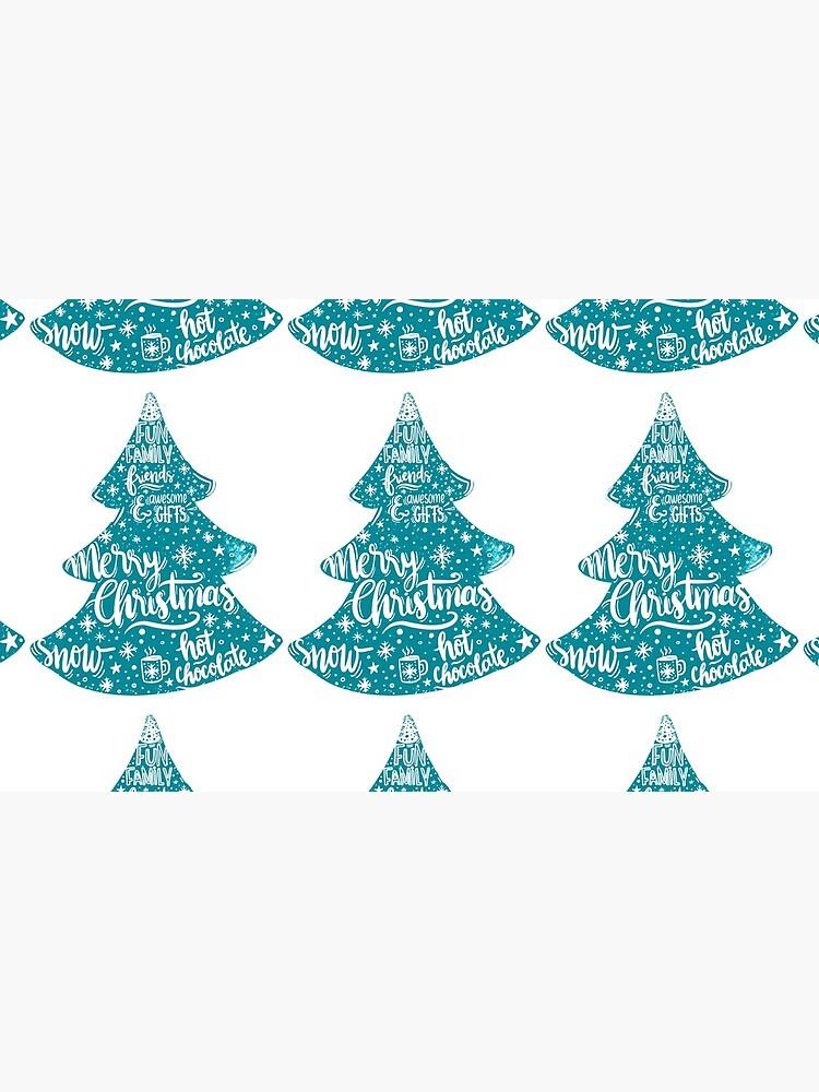 Merry Christmas! Holidays pattern design by mirunasfia