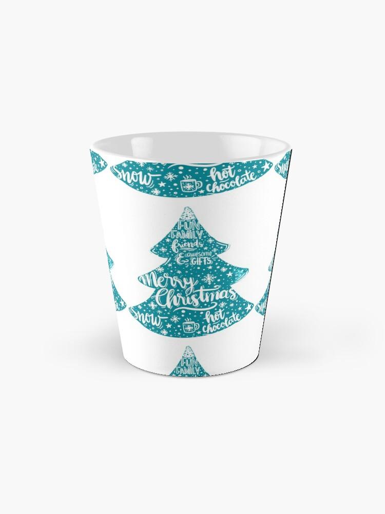 Alternate view of Merry Christmas! Holidays pattern design Mug