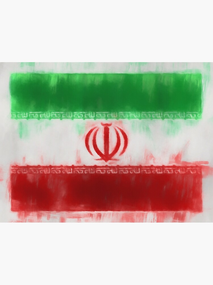 Iran Flag Reworked No. 66, Series 1 by 8th-and-f