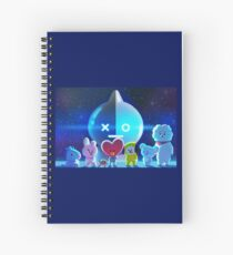 BT21 Spiral Notebook