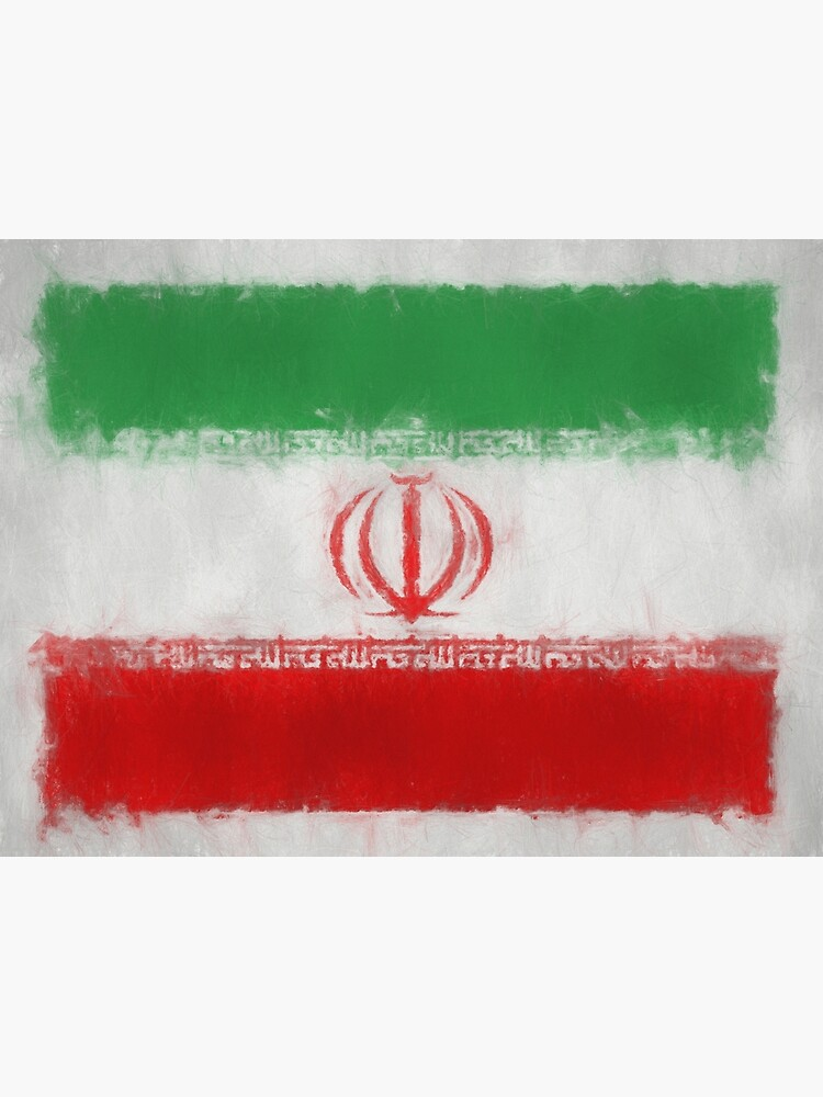 Iran Flag Reworked No. 66, Series 3 by 8th-and-f