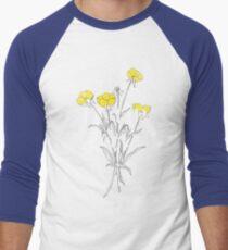 Camiseta ¾ bicolor para hombre Suck it Up Buttercup