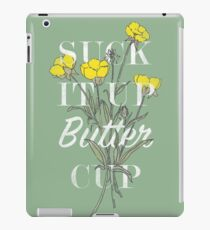 Saugen Sie es Butterblume auf iPad-Hülle & Klebefolie