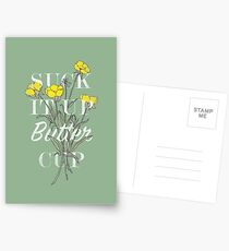Suck it Up Buttercup Postcards