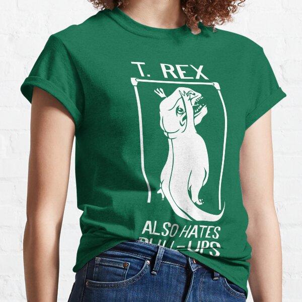 El Flash (camisa de Cisco) - T-Rex también odia las dominadas Camiseta clásica