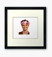 matthew gray gubler Framed Print