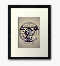TSM Grunge Framed Print
