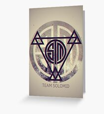 TSM Grunge Greeting Card
