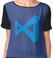 visual studio code Women's Chiffon Top