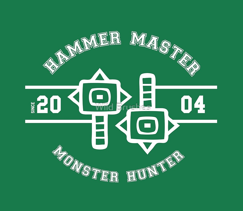 Hammer Master - Monster Hunter by tracialawliet