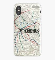 The Walking Dead - Terminus Map iPhone Case