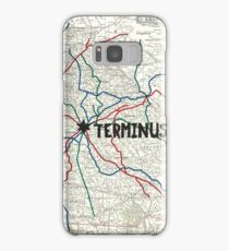 The Walking Dead - Terminus Map Samsung Galaxy Case/Skin