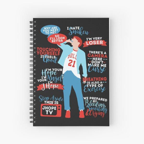BTS J-Hope Quotes Cuaderno de espiral