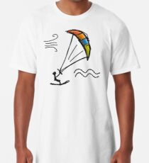 Kiteboarding Long T-Shirt