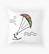 Kiteboarding Floor Pillow