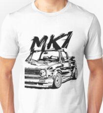 Golf 1 Convertible MK1 Unisex T-Shirt