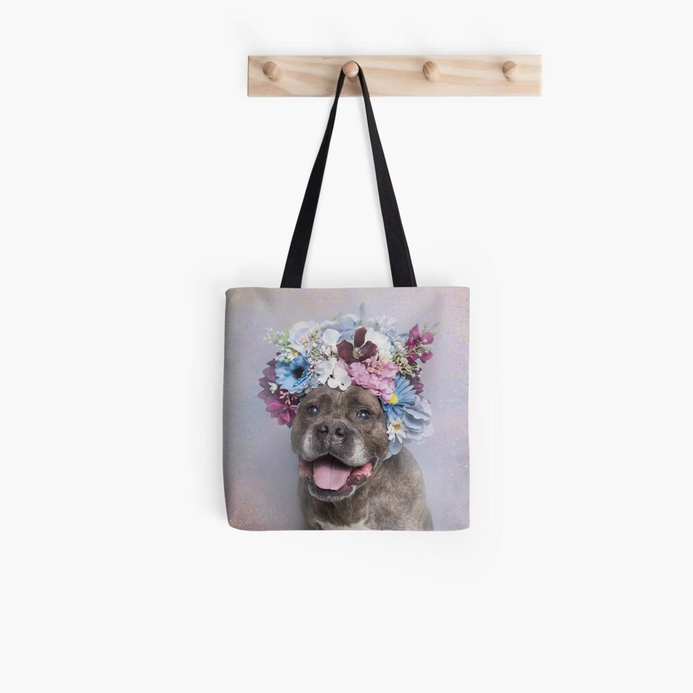 Flower Power, Rumple Tote Bag