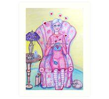 Granny Content Series 2 Art Print
