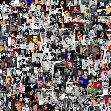 Elvis presley collage by chris2766