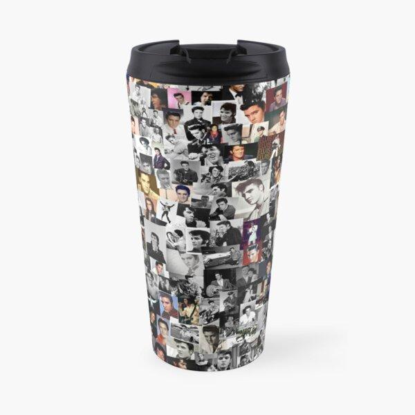 Elvis presley collage Travel Mug