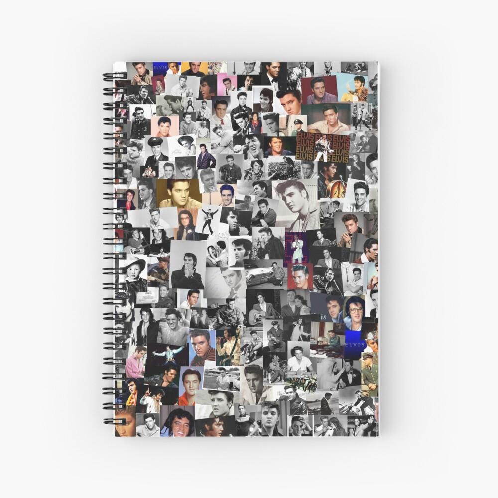 Elvis Presley Collage Spiralblock