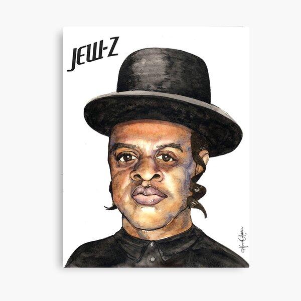 Jew-Z Hanukkah Print Canvas Print
