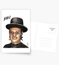 Jew-Z Hanukkah Print Postcards