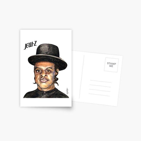 Jew-Z Hanukkah Print Postcard
